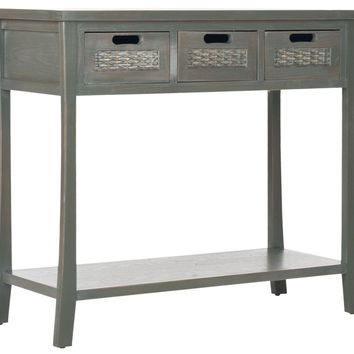 Autumn 3 Drawer Console French Grey