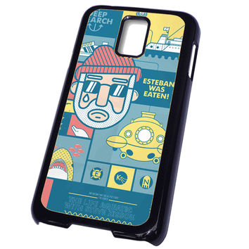 The Life Aquatic with Steve Zissou FOR SAMSUNG GALAXY S5 CASE**AP*