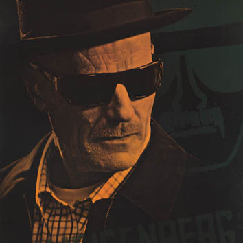 Breaking Bad Walter White Heisenberg Poster 22x34