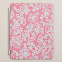 Red Lace iPad Cover - World Market