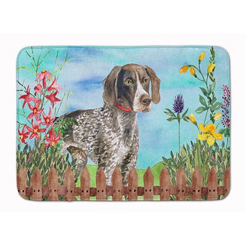 German Shorthaired Pointer Spring Machine Washable Memory Foam Mat CK1203RUG