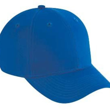 Blue Hard Cotton Baseball Cap