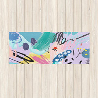 Color Splash Yoga Mat