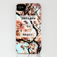 Believe In Magic iPhone Case by Jenndalyn | Society6