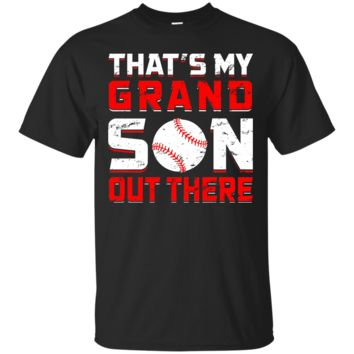 Unisex Thats My Grandson Out There (Baseball) Relaxed T-Shirt