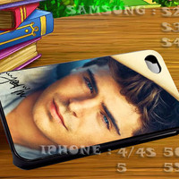 Zac Efron Sign High School Musical - For iphone 4 iphone 5 samsung galaxy s4 / s3 / s2 Case Or Cover Phone.