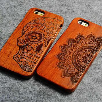 Handmade Wooden Case For iPhone 6 & 6 Plus