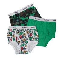 OshKosh B`Gosh Boys 2-7 Dinosaurs 3 Pair Brief Pack