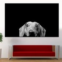Large size Printing Oil Painting dachshund Wall painting Decor Wall Art Picture For Living Room painting No Frame