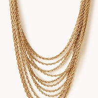 Layered Rope Chain Necklace