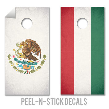 Mexicornhole Decals