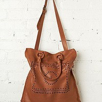 Free People Clothing Boutique > Leather Lace Tote