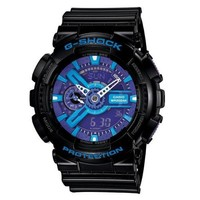 G-SHOCK The GA 110 Hypercolor Watch in Black,Watches for Unisex