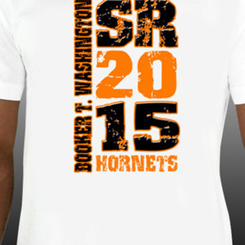 Booker T. Washington Hornets Senior 20XX T-Shirt