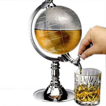 Creative mini globe liquor dispenser