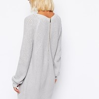 River Island Zip Back Sweater Dress