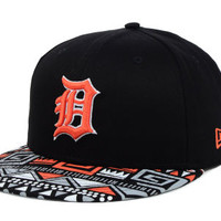 Detroit Tigers MLB Cross Colors 9FIFTY Snapback Cap