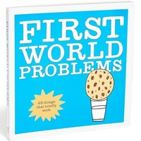 'First World Problems' Book