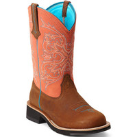 10012810 Ariat Women's FB Cowgirl Western Boots from Bootbay, Internet's Best Selection of Work, Outdoor, Western Boots and Shoes.