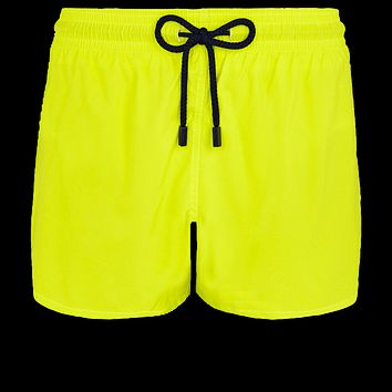 Vilebrequin - Man Chartreuse Green  Swim Shorts