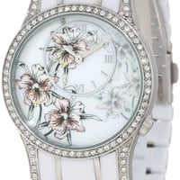 Ed Hardy Women's JA-WH Jasmine White Watch