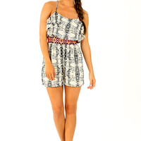 Letting The Night Roll Romper: Multi