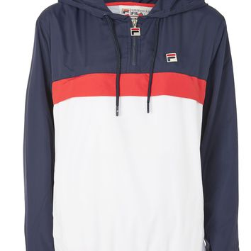 Colour Block Cagoule by Fila