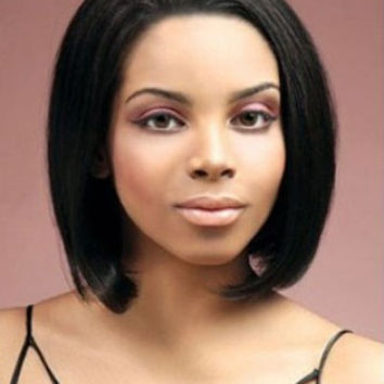 """10"""" Silky Straight Remy Human Hair Lace Front Wig"""