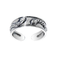 Sterling Silver 925 Stylish Snake Toe Ring