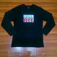 Hot sale Keith Haring H.E.L.P Long Sleeve pop art Vintage!