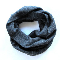 Childs Grey Scarf Toddler Scarf Girl Scarf Boy Scarf Grey Sweatshirt Material Childs Winter Scarf Ready To Ship