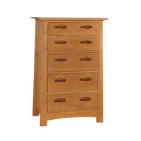 Enso 5 drawer Upright Dresser