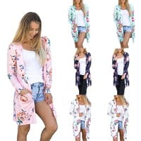 Women's Fashion Hot Sale Long Sleeve Print Jacket [14117437460]