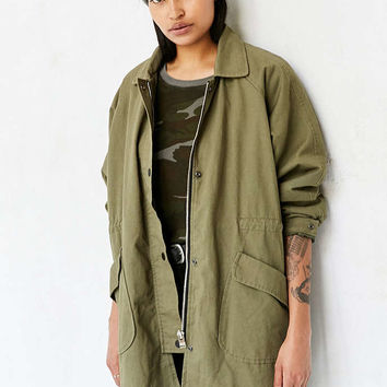 UNIF Workwear Anorak Jacket - Urban Outfitters