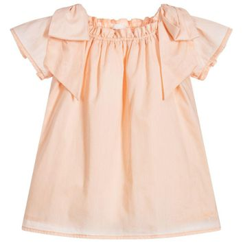 Chloe Girls Light Pink Blouse
