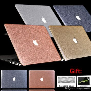 Hard Crystal/Matte Frosted Full Case For MacBook Air Pro Retina 11 12 13.3 15 For MacBook Pro 13 15 inch Cover