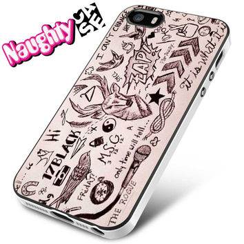 1D Tatto iPhone 4s iphone 5 iphone 5s iphone 6 case, Samsung s3 samsung s4 samsung s5 note 3 note 4 case, iPod 4 5 Case