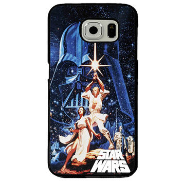 Star Wars Movie Poster for Samsung Galaxy S7 Edge