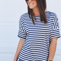 Chasing Summer Striped Tee