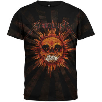 Metallica - Pushead Sun T-Shirt
