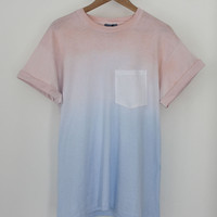 ANDCLOTHING — Sun Rise Dip Dye Tee SOLD OUT