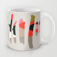 Painted Twigs 1 Mug by Garima Dhawan