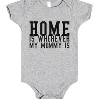 home-Unisex Heather Grey Baby Onesuit 00