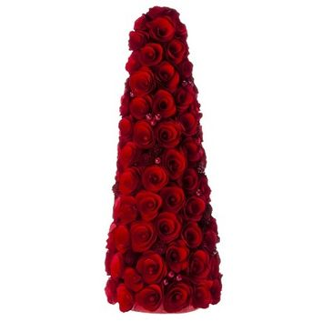 Smith & Hawken® Curled Wood Tree with Berries Red - 20""