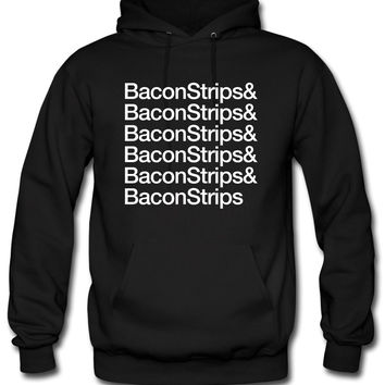 bacon strips Hoodie
