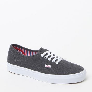 Vans Authentic Wool Sport Sneakers - Mens Shoes - Pewter