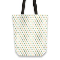 Yellow and green droplets pattern Totebag by Savousepate from €25.00   miPic