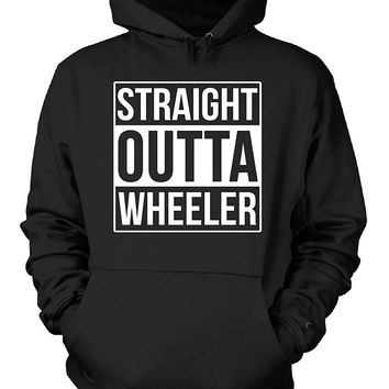 Straight Outta Wheeler County. Cool Gift - Hoodie