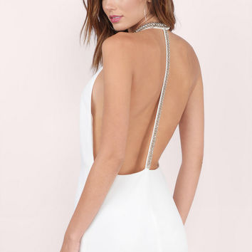 In A Flash Backless Shift Dress $68