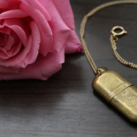 VINTAGE WW2 era lighter turned necklace